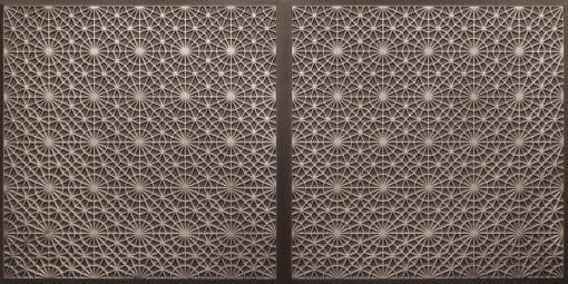 FT803 Faux Tin Ceiling Tile - Antique Silver
