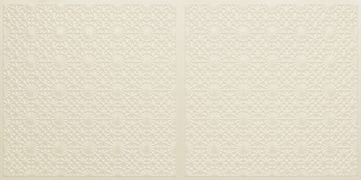 FT803 Faux Tin Ceiling Tile - Cream Pearl