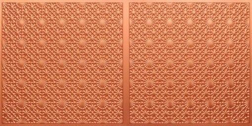 FT803 Faux Tin Ceiling Tile - Copper