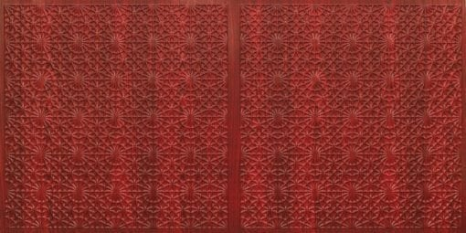 FT803 Faux Tin Ceiling Tile - Rosewood