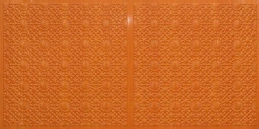 FT803 Faux Tin Ceiling Tile - Teakwood
