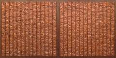 FT804 Faux Tin Ceiling Tile - Antique Copper