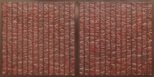 FT804 Faux Tin Ceiling Tile - Antique Rosewood