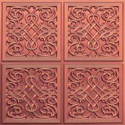 245 Faux Tin Ceiling Tile - Copper