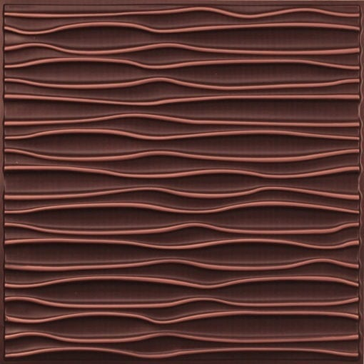 265 Faux Tin Ceiling Tile - Antique Copper