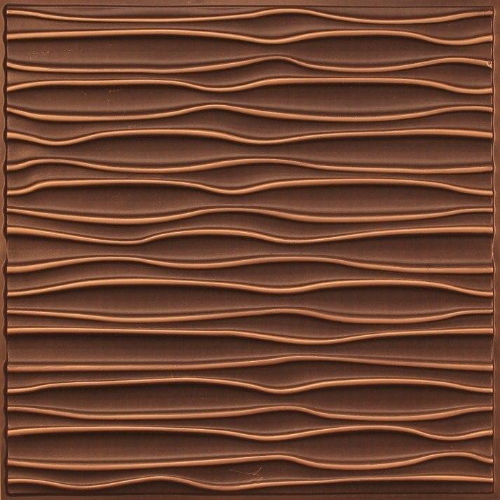 265 Faux Tin Ceiling Tile - Antique Gold
