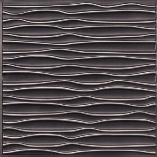 265 Faux Tin Ceiling Tile - Antique Silver