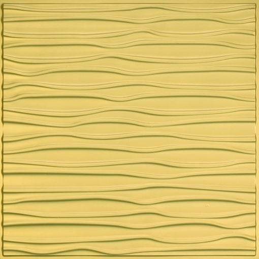 265 Faux Tin Ceiling Tile - Brass