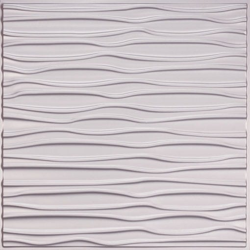265 Faux Tin Ceiling Tile - Silver