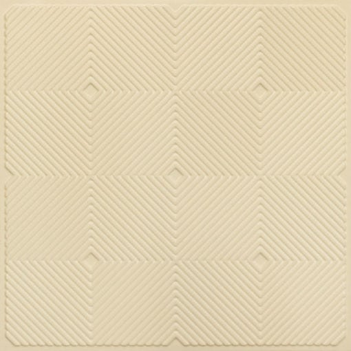 244 PVC  2x2 Faux Tin Ceiling Tile - Cream Pearl