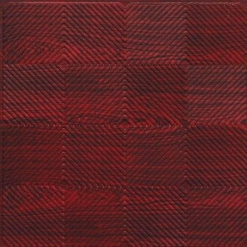 244 PVC  2x2 Faux Tin Ceiling Tile -  Rosewood