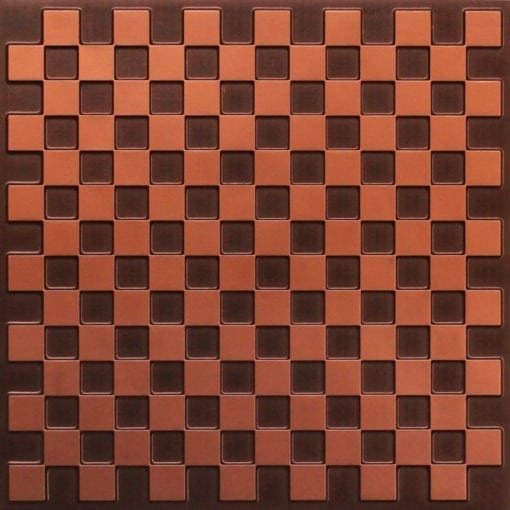 246 Faux Tin Ceiling Tile - Antique Copper