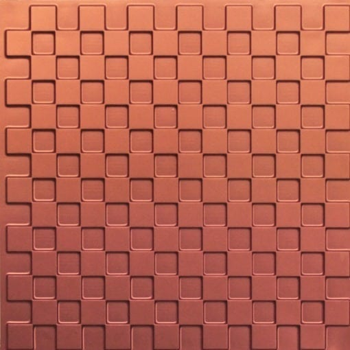 246 Faux Tin Ceiling Tile - Copper