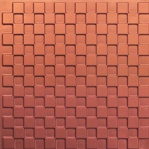246 Faux Tin Ceiling Tile - Copper