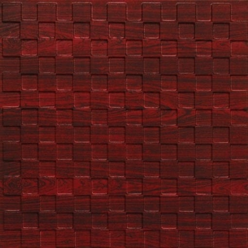 246 Faux Tin Ceiling Tile - Rosewood