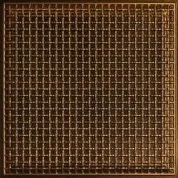 248 Faux Tin Ceiling Tile - Antique Gold