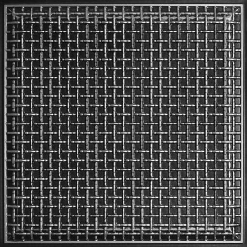 248 Faux Tin Ceiling Tile - Antique Silver