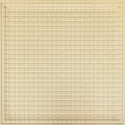 248 Faux Tin Ceiling Tile - Cream Pearl