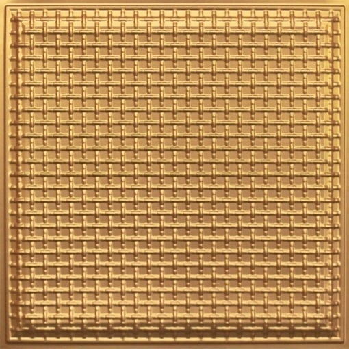 248 Faux Tin Ceiling Tile - Gold