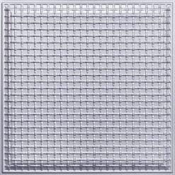 248 Faux Tin Ceiling Tile - Silver