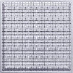 248 Faux Tin Ceiling Tile - Silver