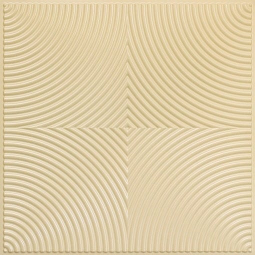 250 Faux Tin Ceiling Tile - Cream Pearl