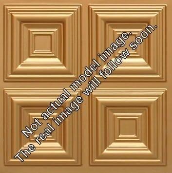 8267 Faux Tin Ceiling Tile - Gold