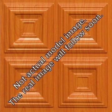 8267 Faux Tin Ceiling Tile - Teakwood