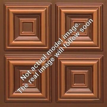 8267 Faux Tin Ceiling Tile - Antique Copper
