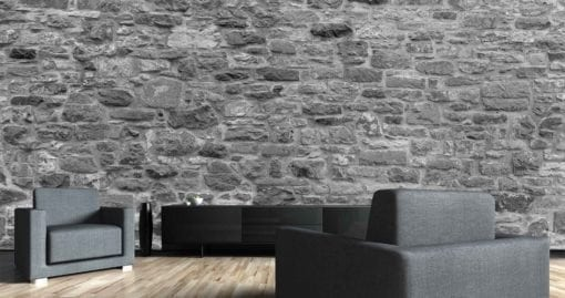 MU1500 - Stone Wall - black and white