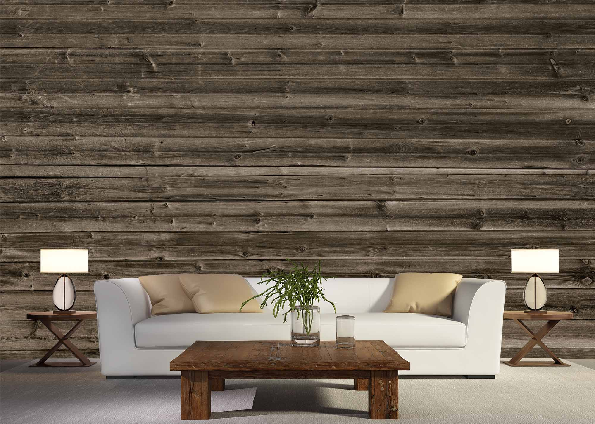 Horizontal Barn Wood Wall Mural Talissa Decor Wall Murals