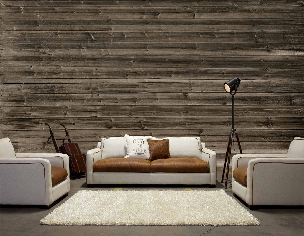 MU1431 - Horizontal Barn Wood - black and white