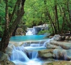 MU1428 - Erawan Waterfalls, Thailand