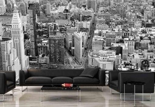 MU1414 - Bird's Eye View of Manhattan, New York