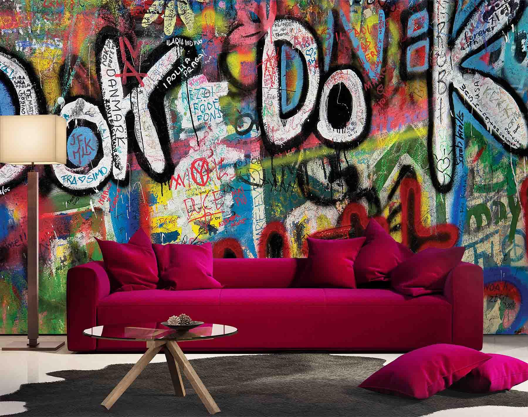 Grafiti Ok Do K Wall Mural Talissa Decor