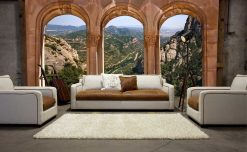 MU1277 - View from the Monastery of Montserrat, Spain