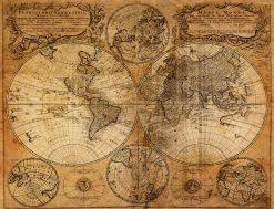 MU1210 - Old Map 1746