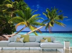MU1195 - Palm Trees in the Maldives