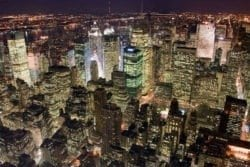MU1181 - Manhattan at Night