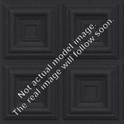 Lot of 25 tiles - 204 Faux Tin Black Matte