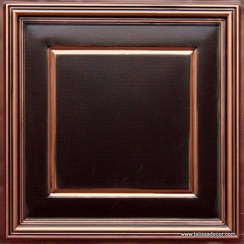 Lot of 56 tiles - 224 Faux Tin Antique Copper