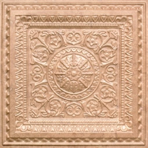 223 Faux Tin Ceiling Tile - Venetian Brown
