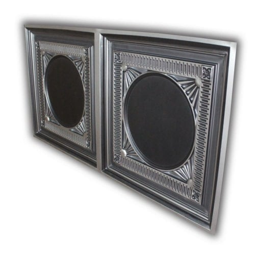 8266 Faux Tin Ceiling Tile - Antique Silver
