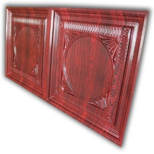 8266 Faux Tin Ceiling Tile - Rosewood
