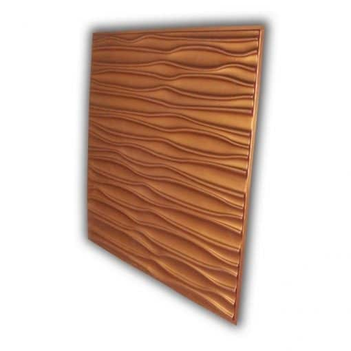265 Faux Tin Ceiling Tile - Copper