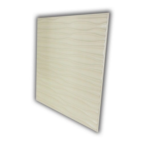 265 Faux Tin Ceiling Tile - White Matte
