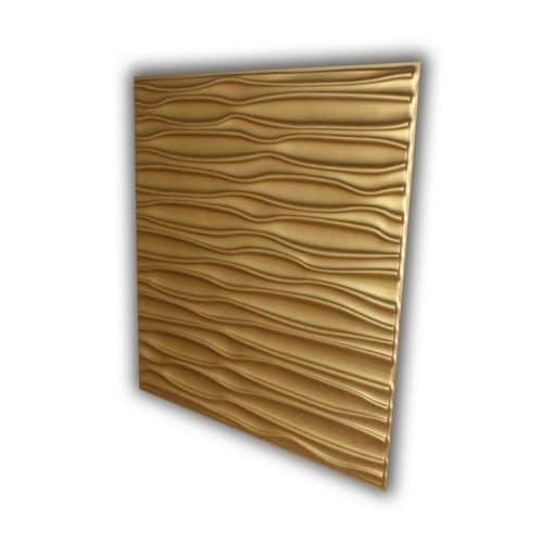 265 Faux Tin Ceiling Tile - Gold