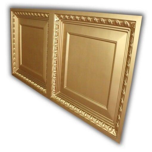 8266 Faux Tin Ceiling Tile - Gold