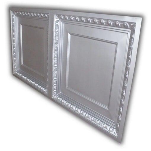 8266 Faux Tin Ceiling Tile - Silver
