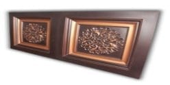 8268 Faux Tin Ceiling Tile - Coffered
